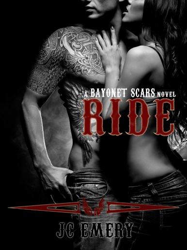 Ride (Bayonet Scars, No. 1) E-book Cover (9-3-13)